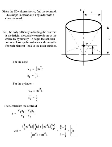 Volume Of Composite Figures Worksheet by Enotes Mechanical Engineering
