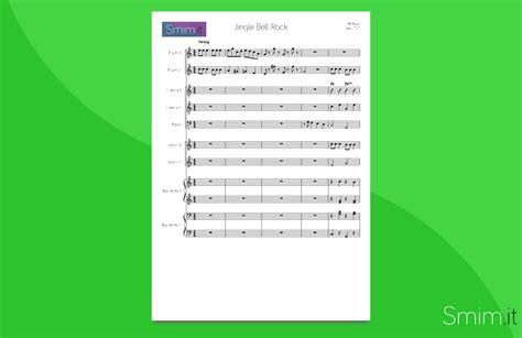 jingle bell testo italiano jingle bell rock partitura per orchestra scolastica