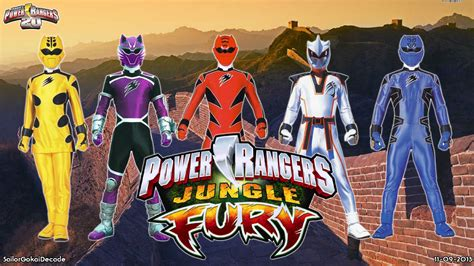 Jungle Fury Power Rangger Power Rangers Jungle Fury Wp By Jm511 On Deviantart