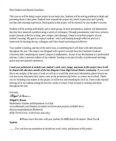 Permission Letter For Project 102 sle letter formats