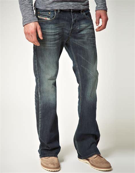 diesel zathan bootcut jeans 885k nordstrom diesel zathan 885k bootcut jean in blue for men lyst