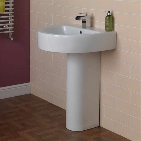 pedestal sink bathroom design ideas small pedestal sinks for small bathrooms home design