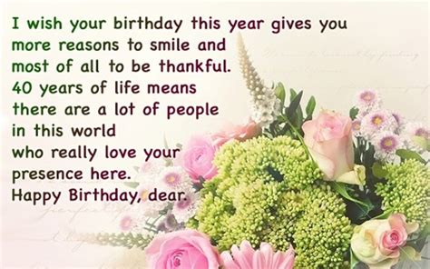 Wedding Anniversary Wishes For Jijaji by 40th Birthday Wishes Happy 40th Birthday Quotes And Images