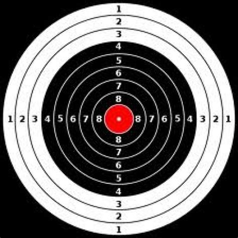 printable targets for handguns the gallery for gt printable shooting targets 8 5 x 11