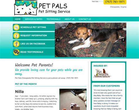 sitting website pet pals chesapeake pet sitting
