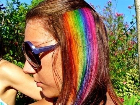 rainbow hairstyling rainbow hair d 183 how to make a coloring dying 183 hair