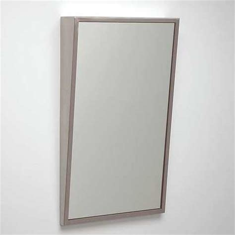 ada bathroom mirror see all industries framed mirror ada fixed tilt 24x36