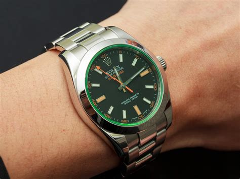 Rolex Millgauss rolex milgauss reference 116400 gv
