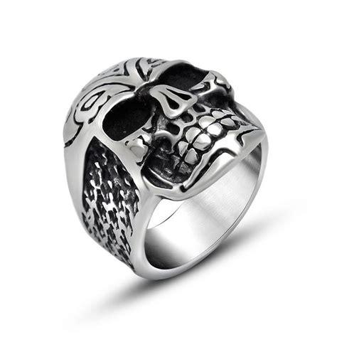 Skull Ring Titanium Sr 067 500 best jewelry images on