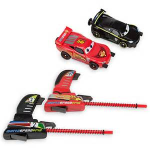 Lightning Mcqueen Car Launcher Nib Disney Pixar Cars Lightning Mcqueen And Lewis Hamilton