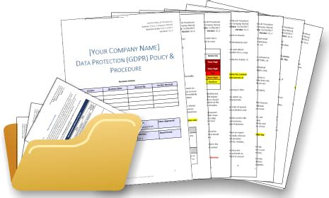 Gdpr Data Protection Policy Gdpr Policy Template Gdpr Cookie Policy Template