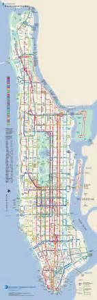 Bus Map New York by Manhattan Bus Map New York Metropolitan Area Pinterest
