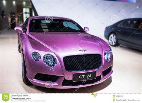 purple bentley a purple bentley car editorial photography image of