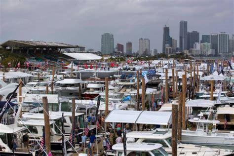 miami international boat show 2018 dates le calendrier des salons nautiques 2019