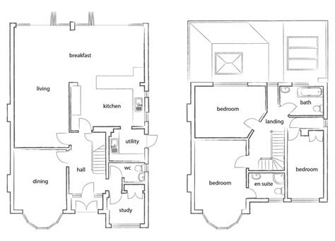 kitchen extension floor plans extension plans