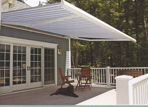 retracting awning awnings retractable william blanchard company inc