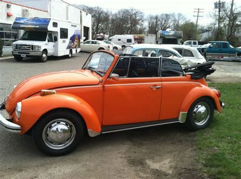 Buy Used Volkswagen by Buy Used Volkswagen Beetle Convertible 1972 In Belmar New