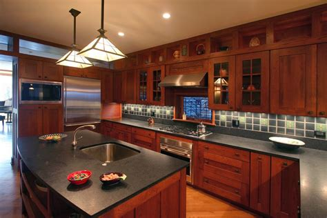 mission style kitchen lighting kitchen cabinet styles kitchen contemporary with black