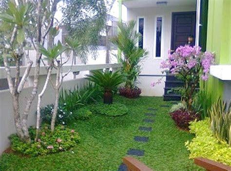 desain taman minimalis depan rumah  cantik