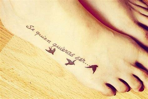 imagenes de tatuajes de frases 40 frases para tatuajes en los pies tatuajes en ingles