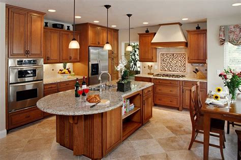 shaped kitchen islands pictures for k b design and remodeling in santee ca 92071