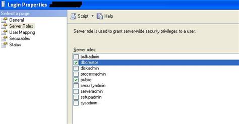 sql server create failed   stack overflow