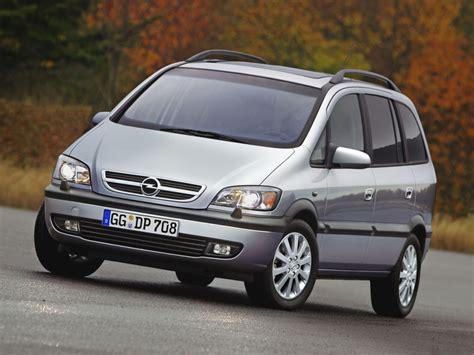 Opel Zafira Specs by Opel Zafira Specs 1999 2000 2001 2002 2003