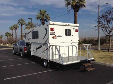 trail pop up awning 2010 used trailmanor trail mini pop up cer in california ca recreational vehicle