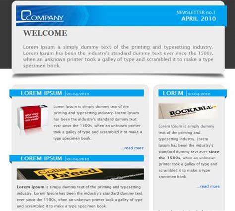 newsletter template email 35 email templates to enhance your newsletter s appeal