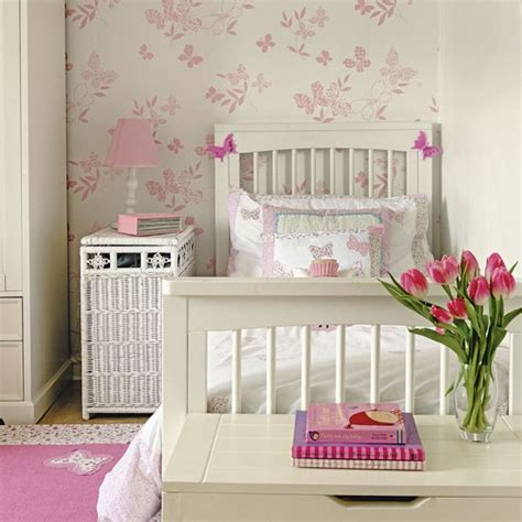 pretty wallpaper for bedroom pretty children s bedroom with butterfly wallpaper use