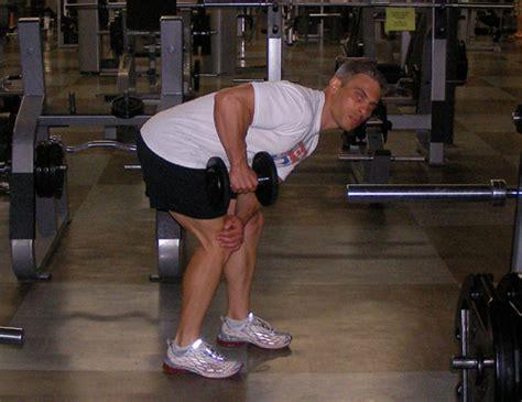 critical bench exercises tricep dumbbell kickbacks exercise