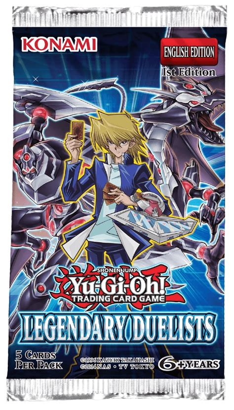 yu gi oh legendary duelists duelist booster pack
