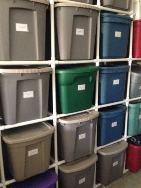 Pvc Storage Rack pvc pipe storage racks house projects