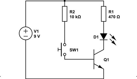 transistor npn led single led single transistor circuit not working electrical engineering stack exchange