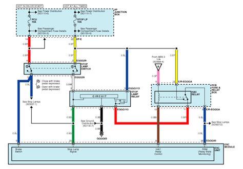 kia sportage abs wiring diagram kia automotive wiring