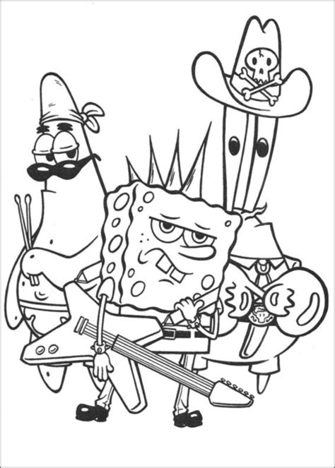 spongebob color by number coloring pages coloring book spongebob