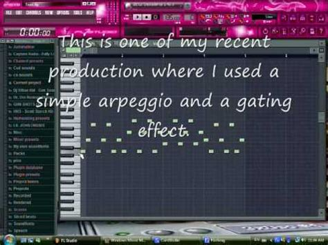 how to create arpeggio how to make a simple melody arpeggio youtube