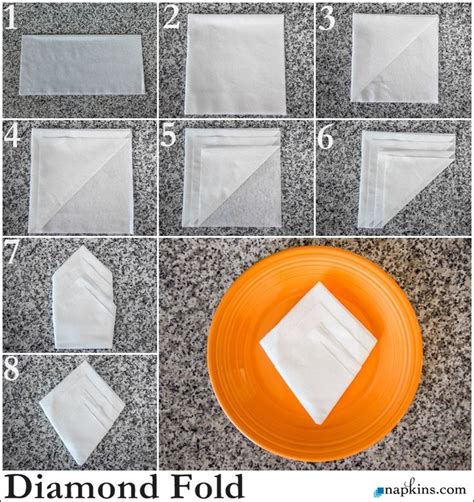 Folding Paper Napkins In Glasses - 20 best images about paper napkin foldings on
