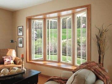 fiberglass bow window contemporary living room san francisco infinity windows ultrex exterior windowin white featuring