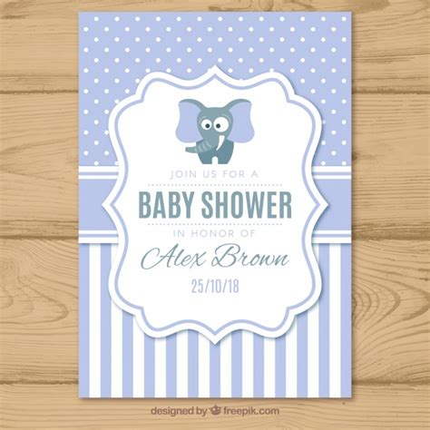 invite baby shower vector baptism invitation vectors photos and psd files free