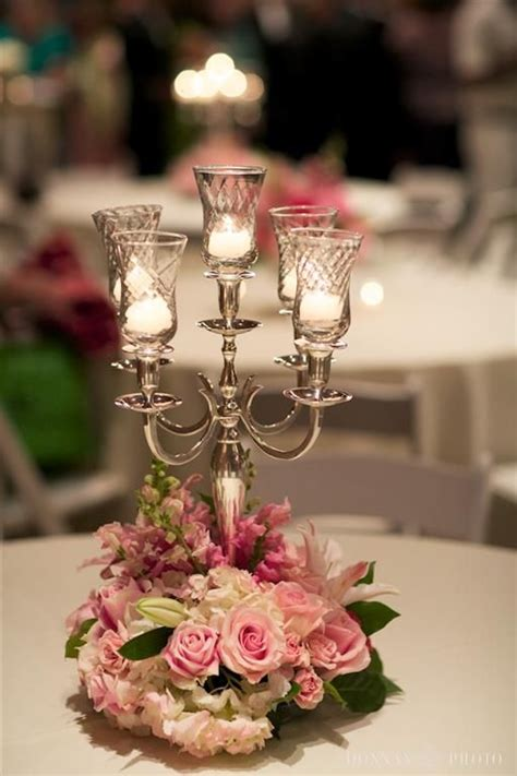 wedding flower centerpieces with candles 32 best images about candelabra centerpieces on plaza hotel wedding and charleston sc