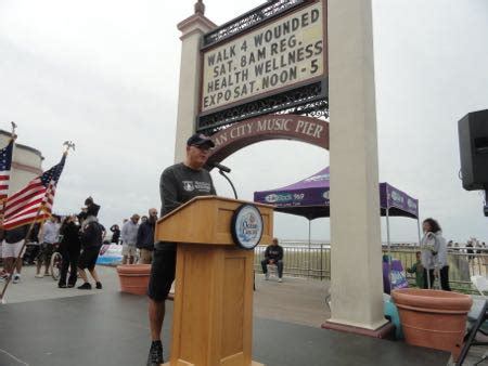 hundreds walk for the wounded in city ocnj daily