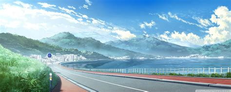 anime landscape android wallpaper anime landscape wallpapers