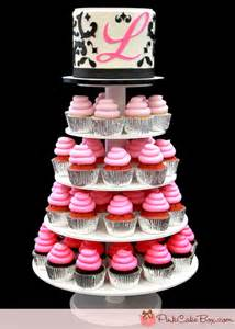 sweet 16 ombre cupcake stand 187 pink cake box