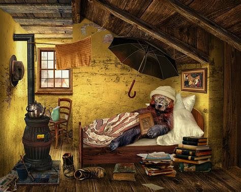 bear attic room  photo  pixabay