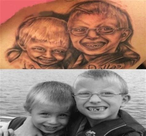 tattoo artist fail the 32 most hilarious portrait tattoo fails ever 16 made
