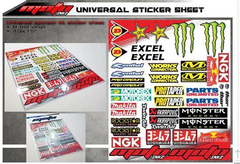 universal yaris grenaji sponsor sticker seti motografix