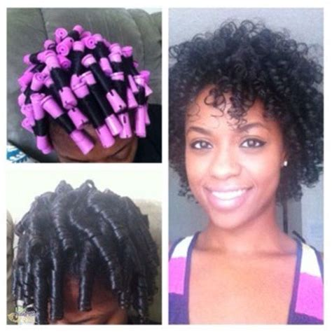 what type of look does cold wave rod set gives you cold wave rods on natural hair rachael edwards