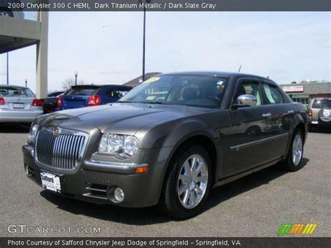 2008 Chrysler 300 Hemi titanium metallic 2008 chrysler 300 c hemi