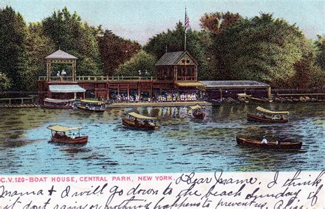 boat house grill nyc central park central park ephemeral new york my old home